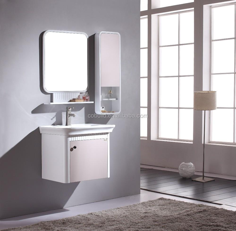 simple contreplaqu utilis armoires de salle de bains ensemble - Ensemble Vanite Armoire