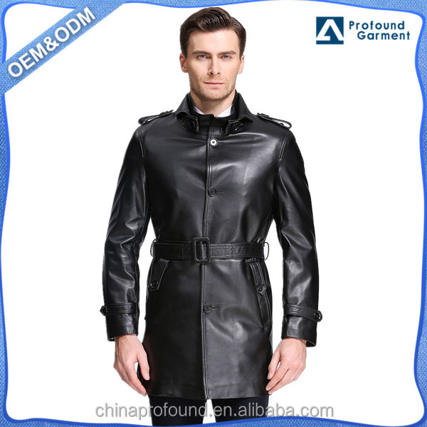 Men Long Leather Coat, Men Long Leather Coat Suppliers and ...