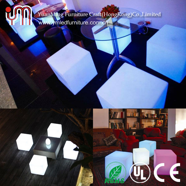 Any Size LED Cube / LED Cube Chairs / Light Cube Seat
