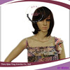 ladys cheap nature looking brown synthetic short wigs