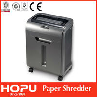 High quality confetti cut paper shredder cross cut