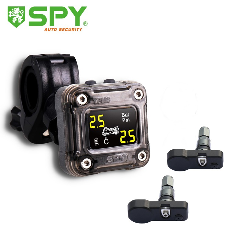 SPY more new design motorcycle tpms with internal sensor