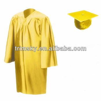 Gold Kids Graduation Gown Buy Graduation Gowngold Graduation Gown