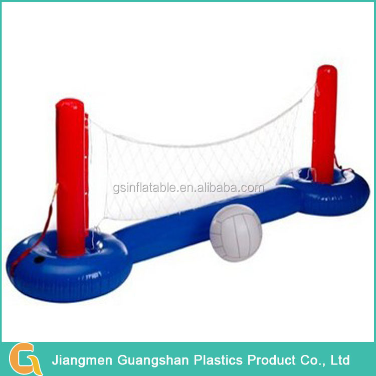 Custom plastic portable inflatable beach volleyball net