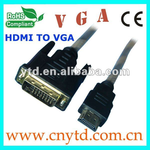 hdmi 1.3 cable vga cable CABLE M/M GOLD plated