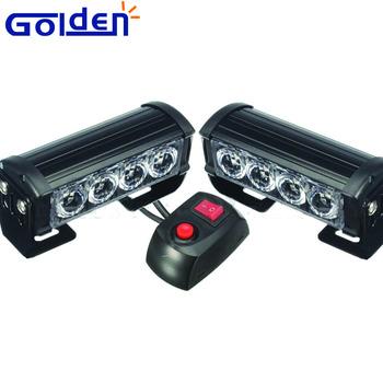 2 Flash Lumière Avertissement Led Pont Grill Stroboscopique Lampe Danger Buy Urgence Voiture Strobe Camion led Light DEH2I9