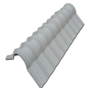 Long lifetime PVC+ASA/PMMA synthetic resin roof tiles/arch roof