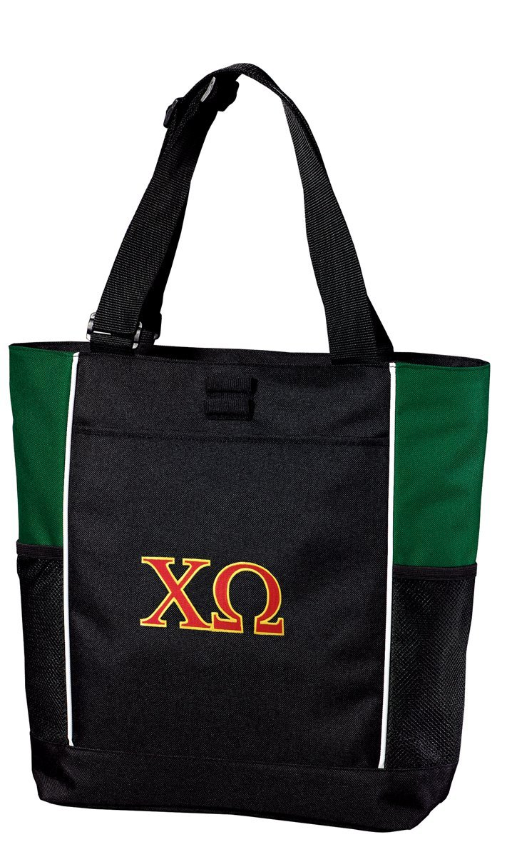 Chi O Tote Bag Colorblock Chi Omega Totes Beach Pool Or Travel