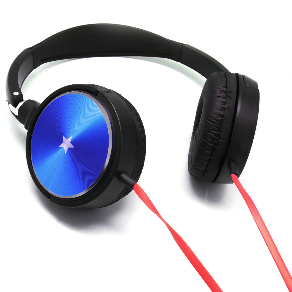 2016 Hot sale mp3 headphone, stereo portable headphone with microphone for phone