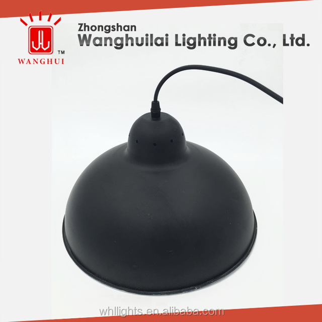 China aluminum lamp lamp shade wholesale alibaba 350mm powder spraying black aluminum lamp shade for pendent aloadofball Choice Image