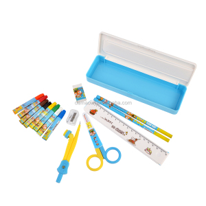 New fashion colorful children study drawing product set Chinese school stationery