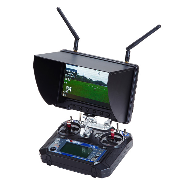 Flysight FPV wireless 1024*600 7 inch 32ch 5.8g <strong>monitor</strong> with 12v dc input
