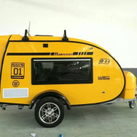 Best price China New Luxury Off-Road Caravan RV on sale