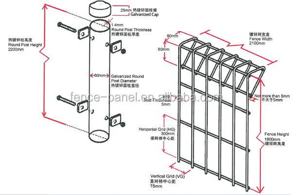 hot dipped galvanized brc fencing malaysia    brc fencing for malaysia