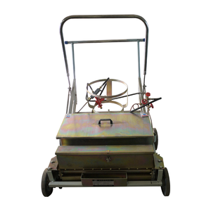 Zebra Crossing Hot Melt Thermplastic Paint Road Line Marking Machine