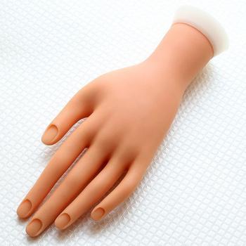 New Design Plastic Fake Practice Hand For Nail Art Training - Buy ...