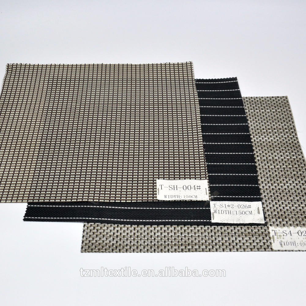 Softextile PVC woven mesh fabric, pvc coated fabric for table mat