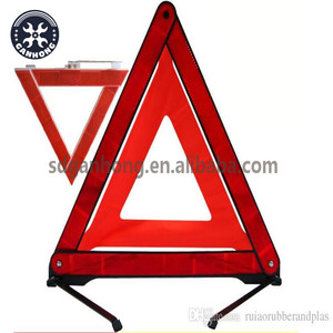 Emergency Warning Triangle Car Safety Triple Reflector Kit Road Parking Sign