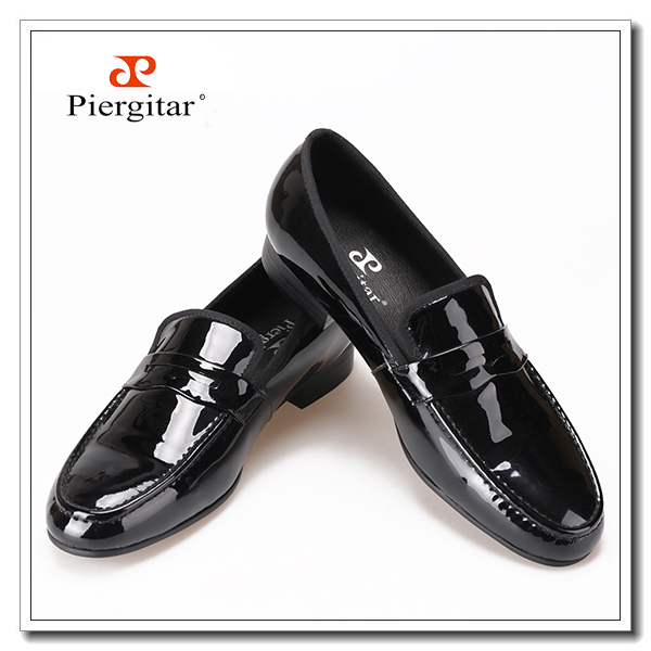 leather black penny dress loafers patent shoes qtOpxtr8