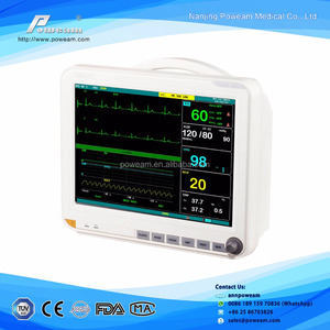 Medical Equipment ECG 15.1 Inch Multi-Parameter Patient Monitor
