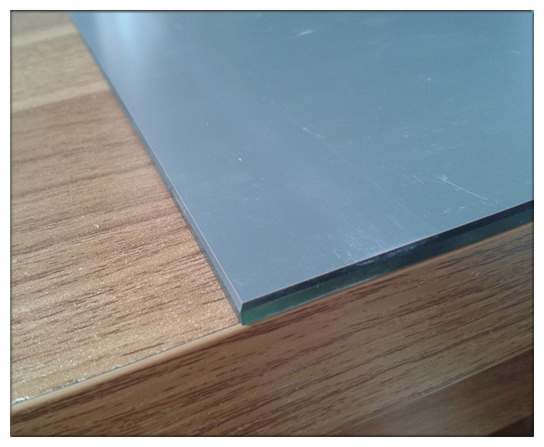4mm Adhesive Mirror Tiles With Beveled Or Flat Polished