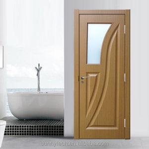 china supplier fire resistant 45mm pvc door bathroom doors design fire  resistant glass door