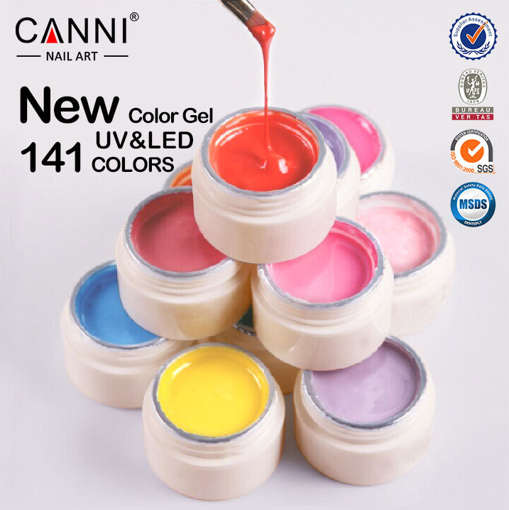 50618x Canni Nail Art Supplies 5ml 141 Colors Gel Soak Off Uv/led ...