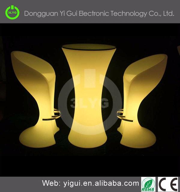 Bar Illuminated Led Furniture Dubai/light Up Bar Table Led ...