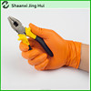 Disposable Super Thick Type Orange Nitrile Gloves