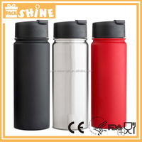 750ml stainless steel sports water bottle with carabiner/ Wholesale Hydro Flask