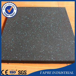 Recycled Tyre/Tire Eco-Friendly Rubber flooring mats with Granules wholesale Price