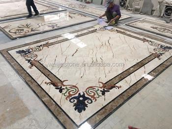 Villa di lusso hotel home sala pavimenti in piastrelle disegni a
