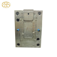 Plastic injection mold for high quality cell phone protection case with 2 raw material or 2 colors