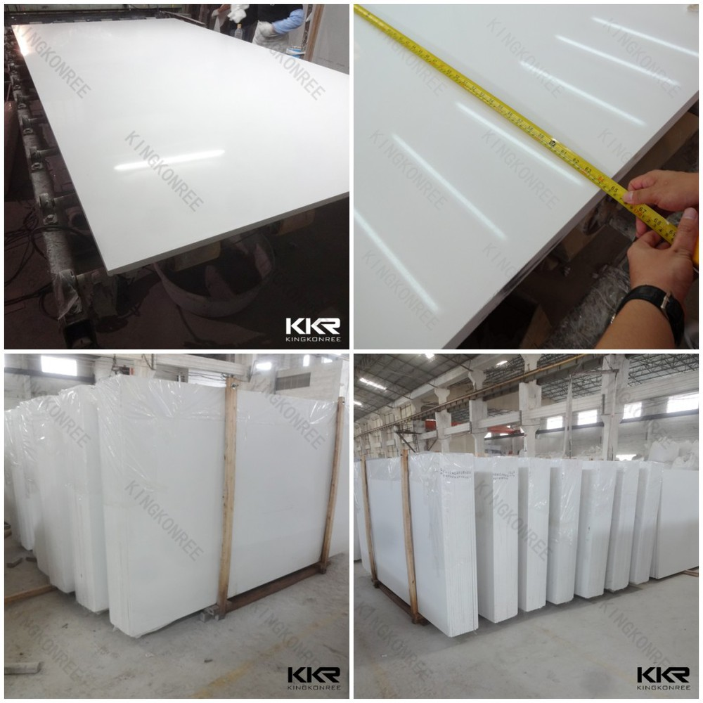 Kingkonree man made stone quartz countertop slabs buy for Man made quartz countertop