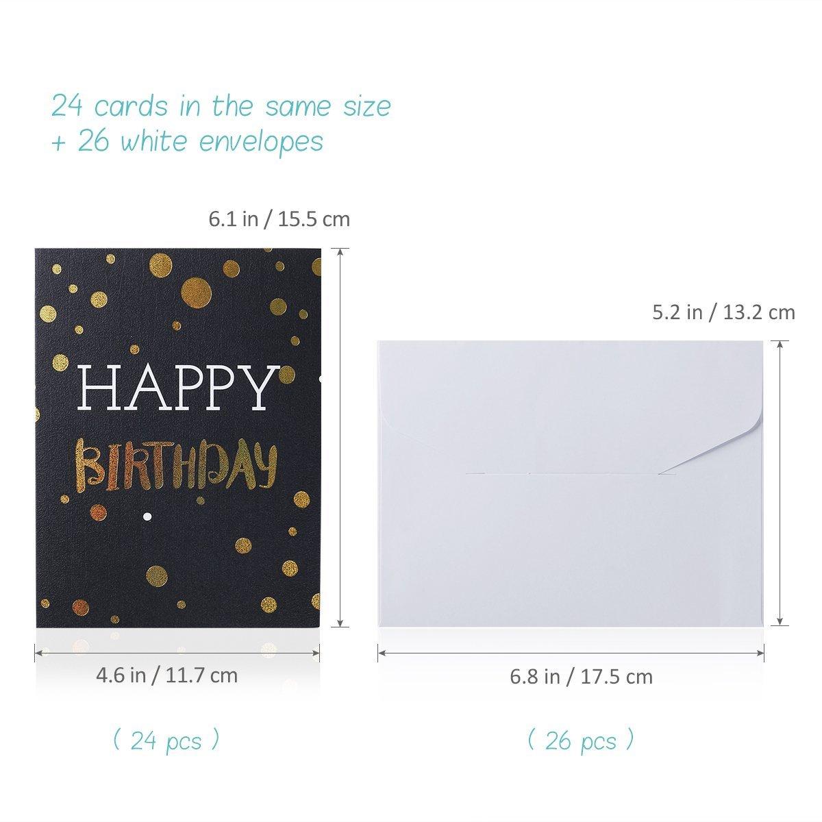 Custom Gold Foil Woodfree Kraft Paper Invitation Card