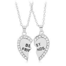 Unique Birthday Gifts For Best Friend Forever Necklaces 2 Pieces Necklace Set
