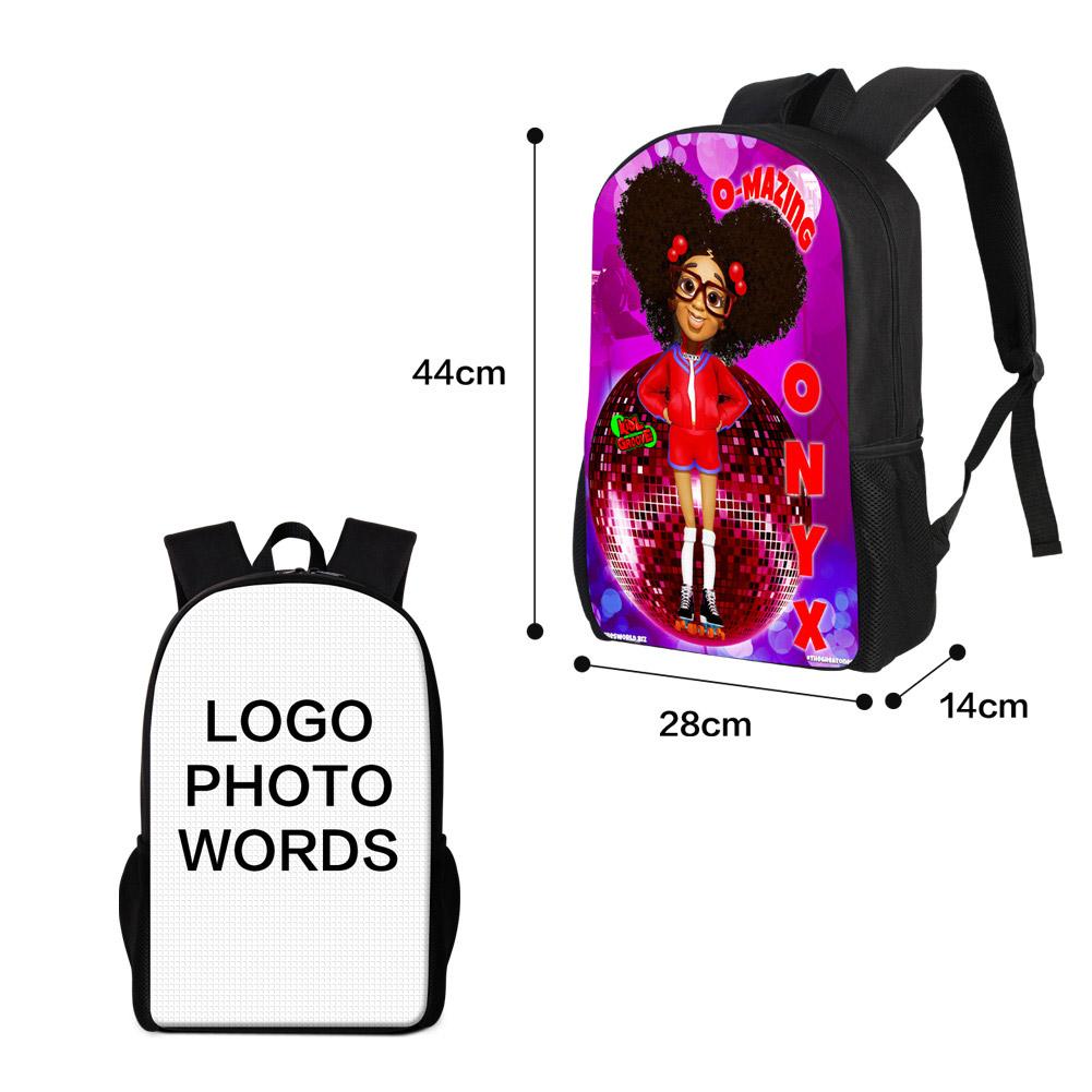 Various backpack styles laptop bag high school Backpack Custom logo brand