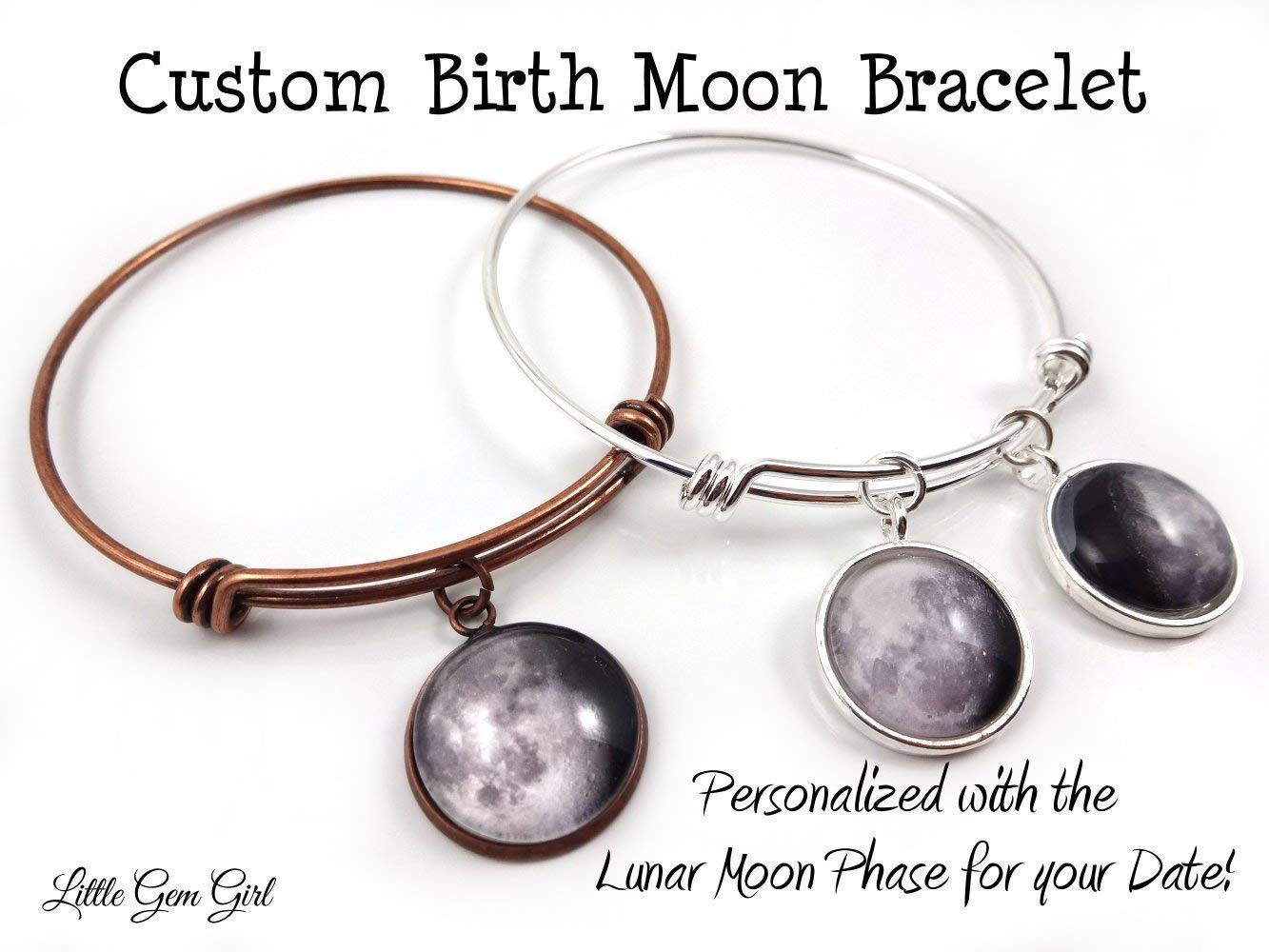 Cheap Steel Phase Diagram Find Deals On Line At Bunn Single Wiring Get Quotations Custom Birth Moon Wire Wrap Bracelet In Silver Stainless Or Antique Copper Personalized