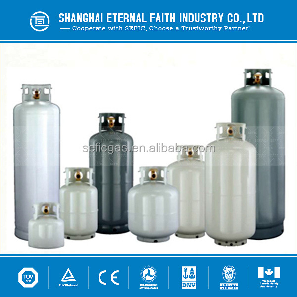 2015 Low Pressure Equipped with Valve LPG Gas Cylinder with Perfect Parts