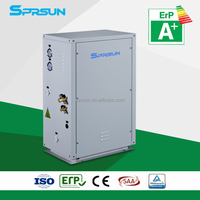 family usage, A+ energy label tested EVI heat pump, split type suitable for cold area