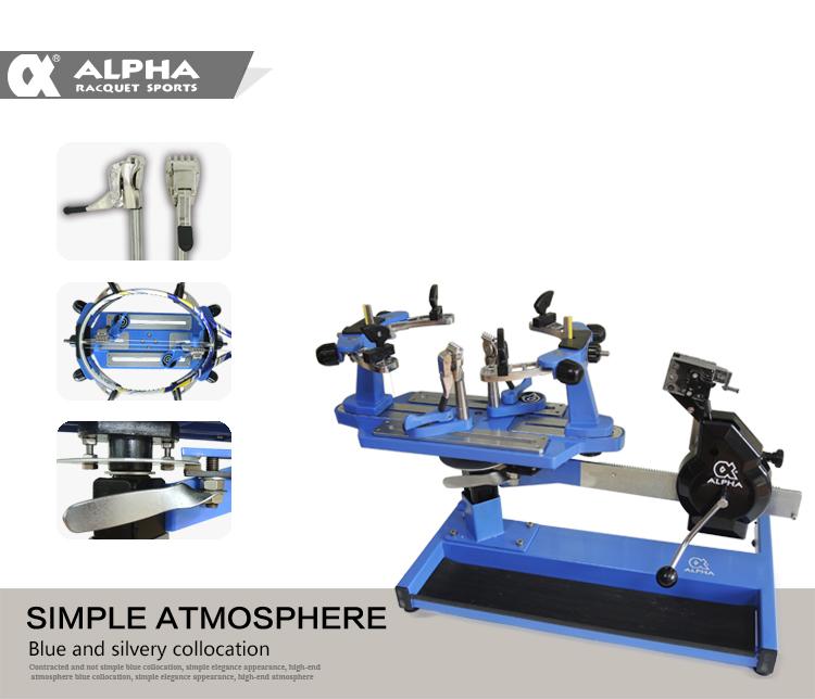Alpha Manual Revo 4000 Racquet Stringing Machine - Buy Racket Stringing  Machine Product on Alibaba com