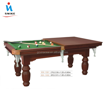 Superbe 2 In1 Pool Table With Poker Table Top