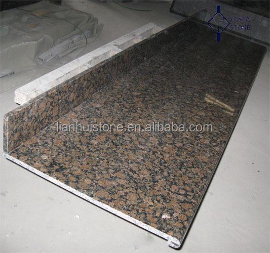 laminat 1 1 2 voll bullnose balitc braun festen farbe granit k chenarbeitsplatte laminat. Black Bedroom Furniture Sets. Home Design Ideas