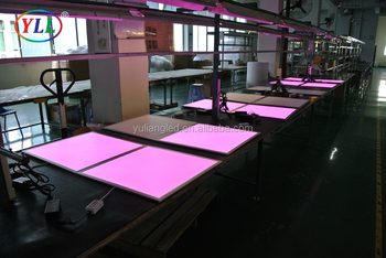 Rgb Panel Light Wireless Remote Control Led Panel Rgb,Rgb 60x60 Cm ...