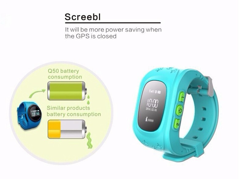 Smartwatch Kid Gps Montre Connecter Android Wear