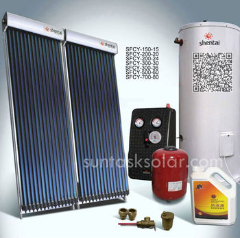 Split Pressurized Swimming Pool Solar Water Heater Sfcy 01