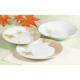 Cheap White Porcelain Dinner Plates For 6 People Living Art Dinner Set