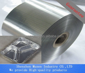 Food Grade Oil Lubrication Container Aluminum Foil Tray Aluminum Foil Container