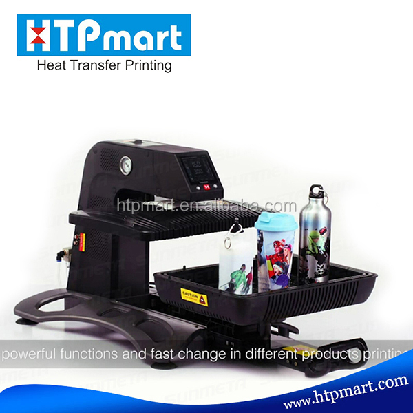 Two Station Automatic Heat Transfer Machine,large format heat press