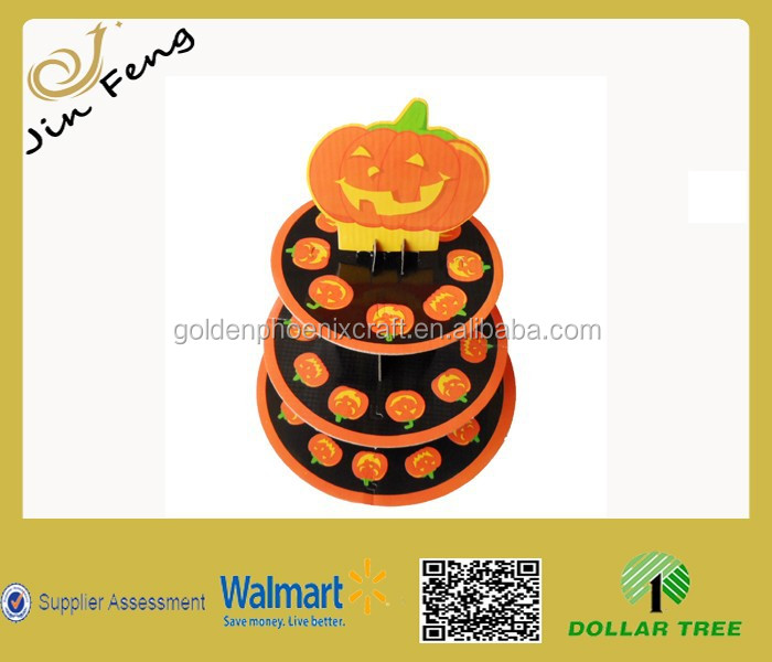 Halloween 3 Tier Cake Stand/Cupcake Stand For Party Treats